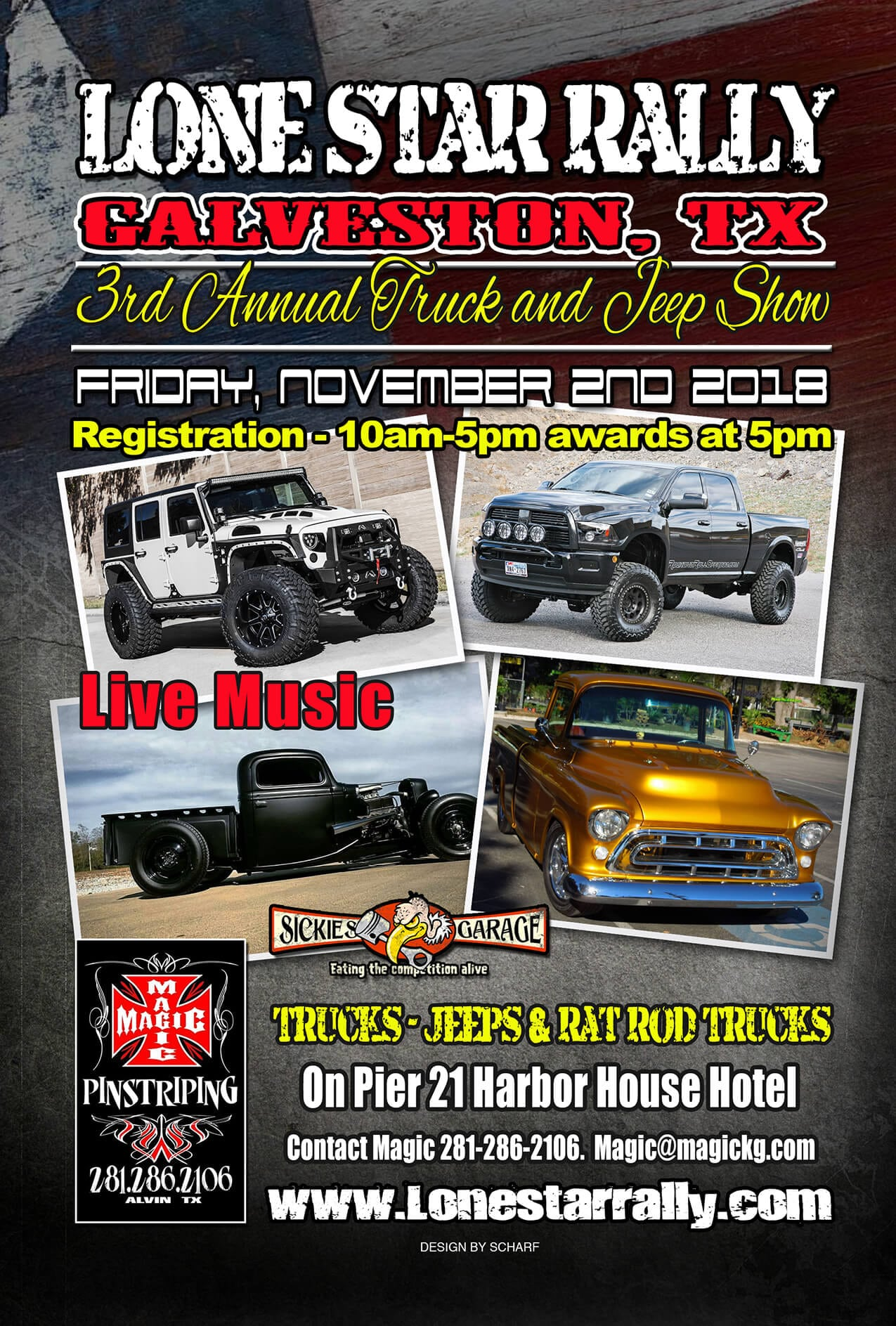 Truck And Jeep Show Lone Star Rally